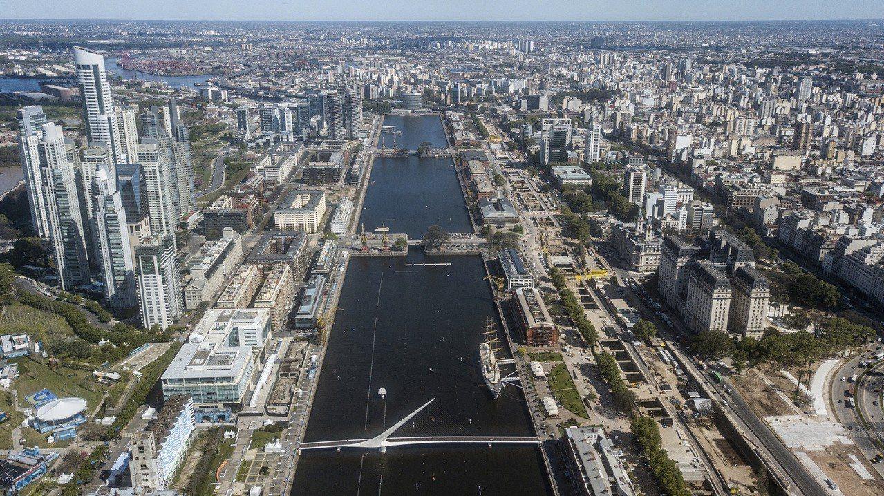 阿根廷首都布宜諾斯艾利斯。美聯社