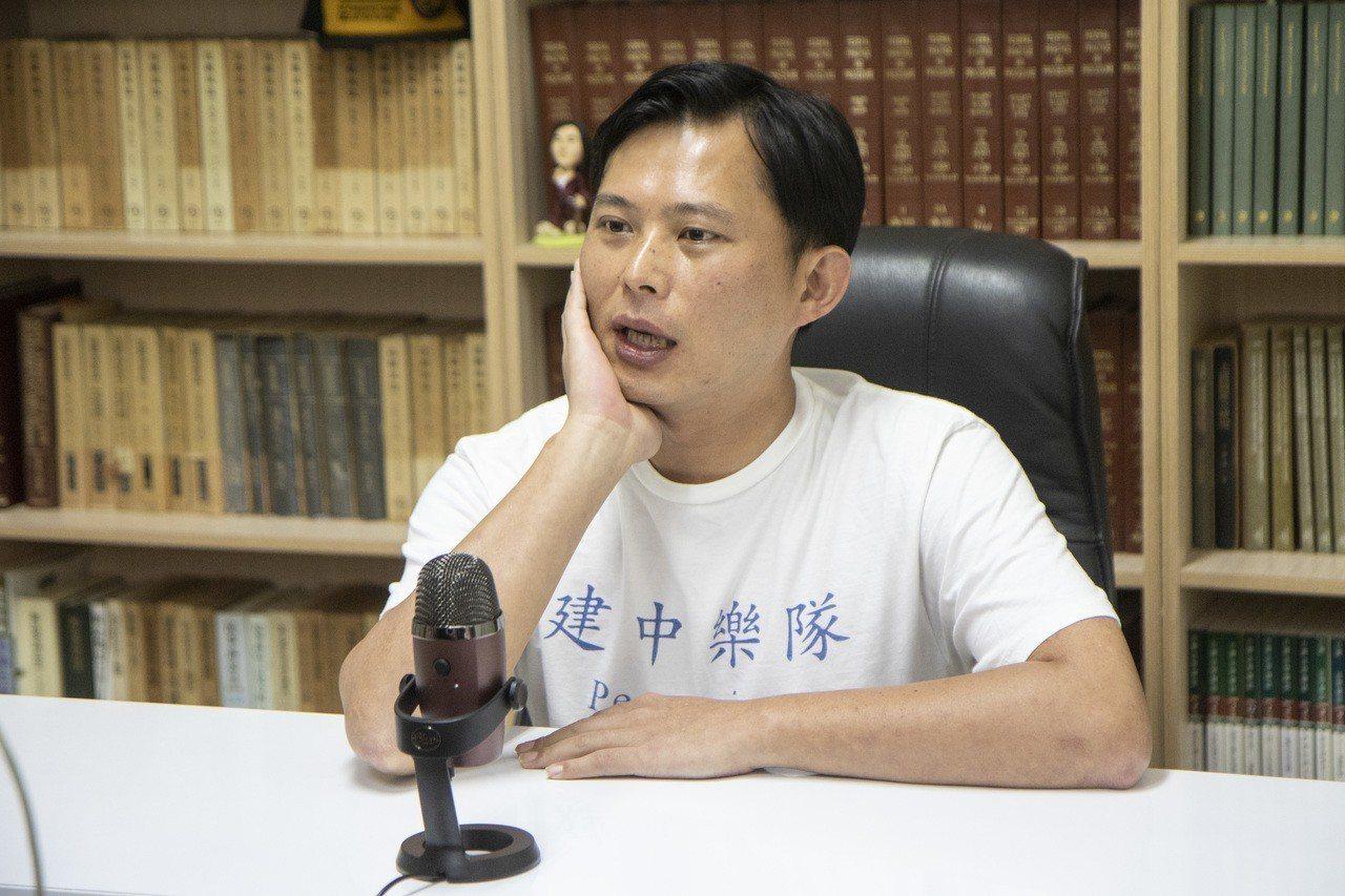時力前主席黃國昌最近的動向,顯得撲朔迷離。 圖/聯合報系資料照片
