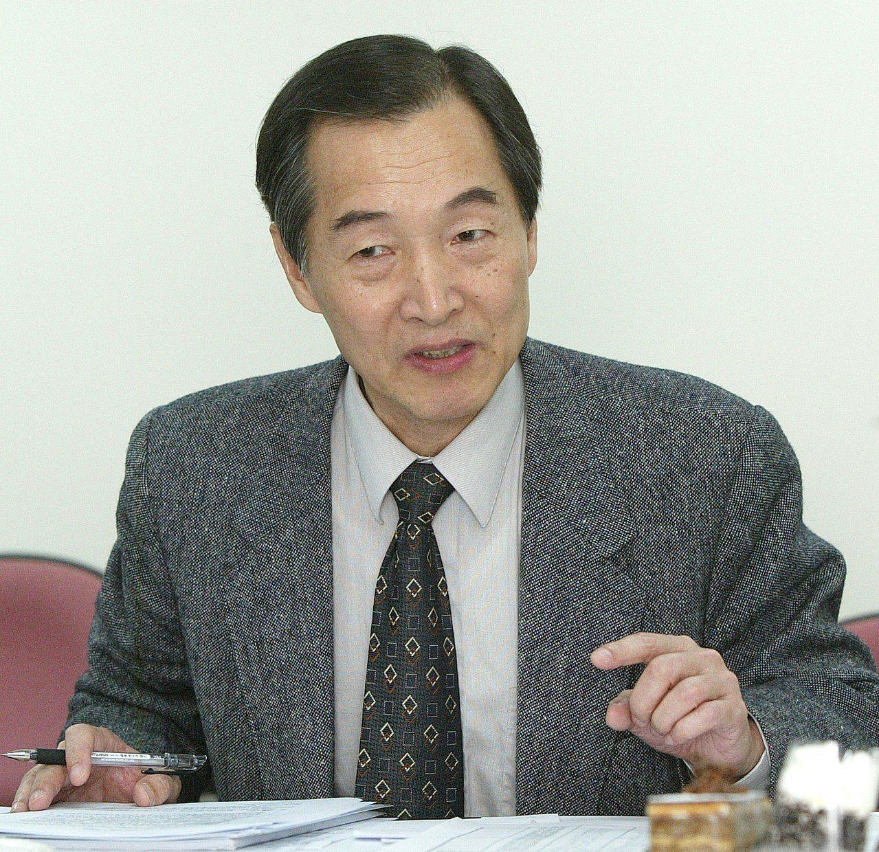 台大教授洪永泰。 聯合報系資料照/記者王宏光攝影