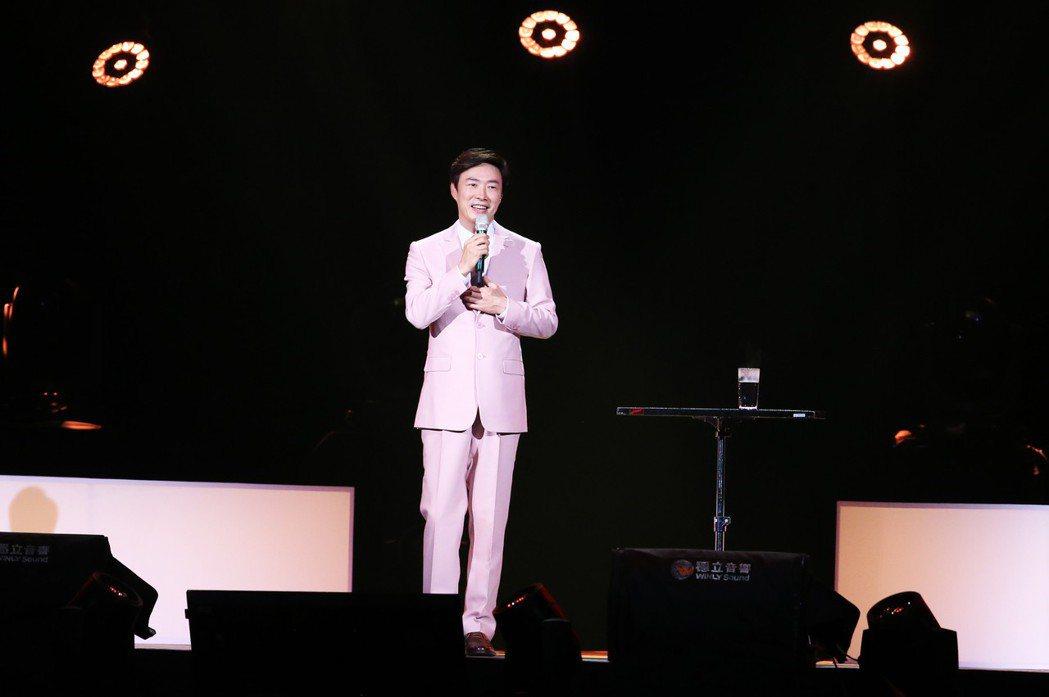 費玉清在他46年的歌唱生涯中,入圍過5次歌王,但從未獲獎。圖/聯合報系資料照
