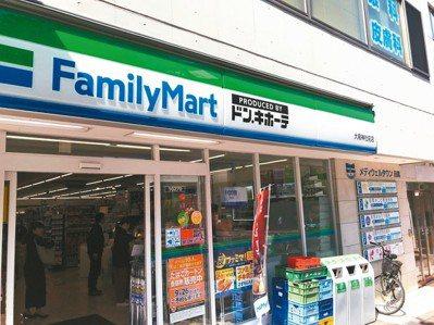 日本折扣商店唐吉訶德與日本全家便利商店開設複合店。潘進丁/提供 全家/提供