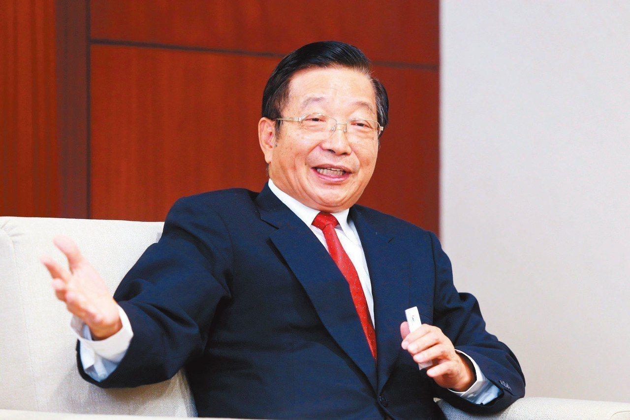 兆豐金董事長張兆順 記者邱德祥/攝影