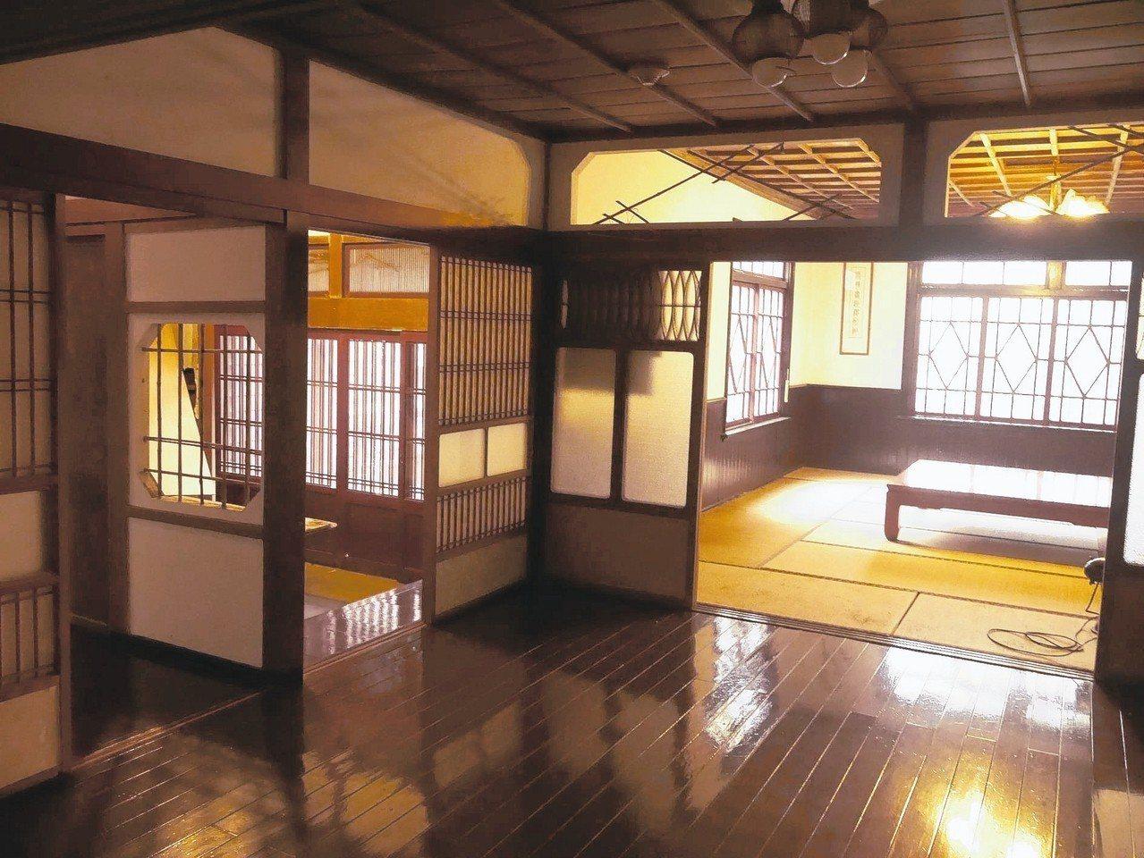 1922年為招待當時日本的皇太子視察金瓜石礦業,興建太子賓館。 記者吳淑君/攝影