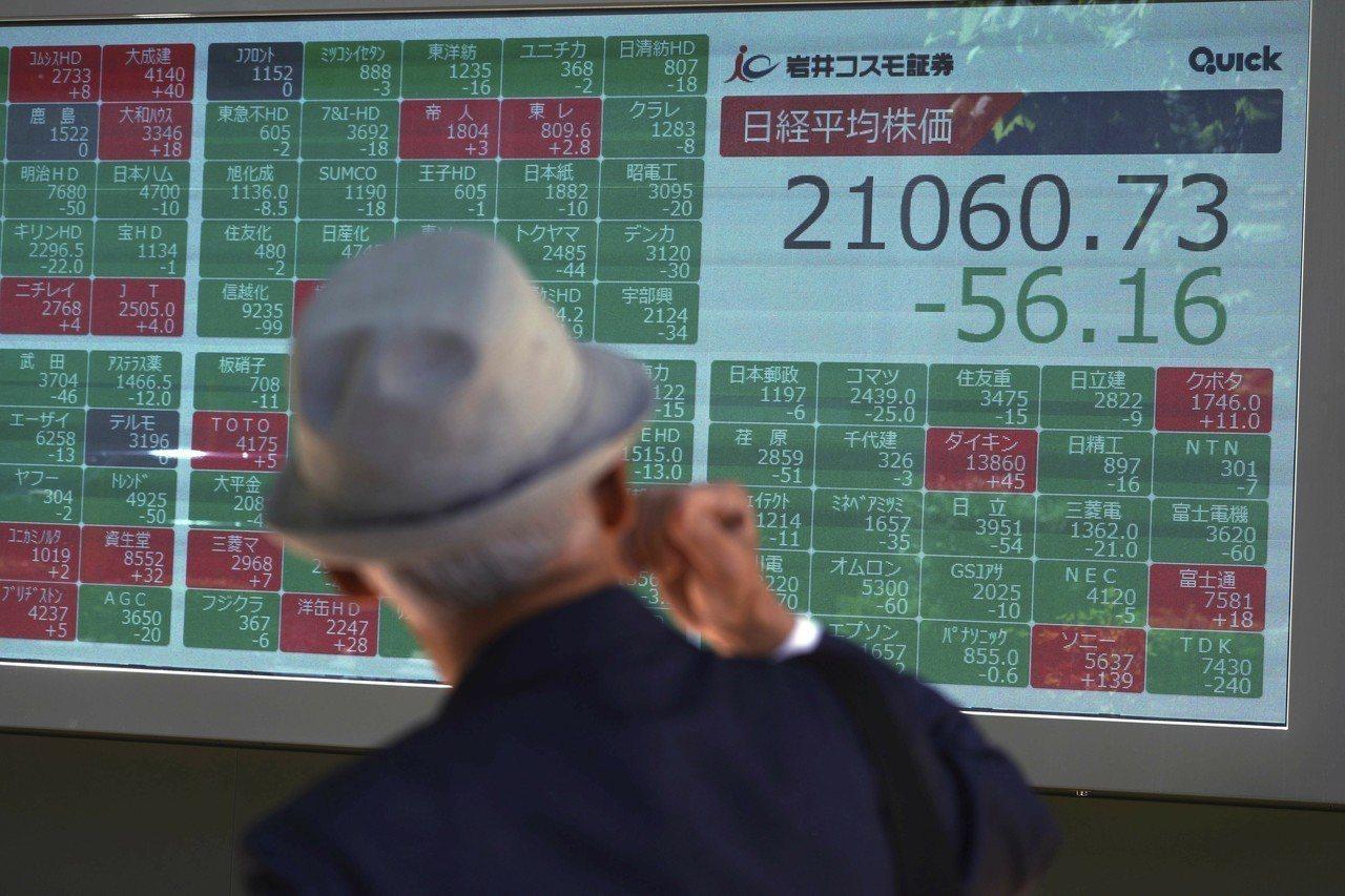 部分亞洲地區股市走高。 美聯社