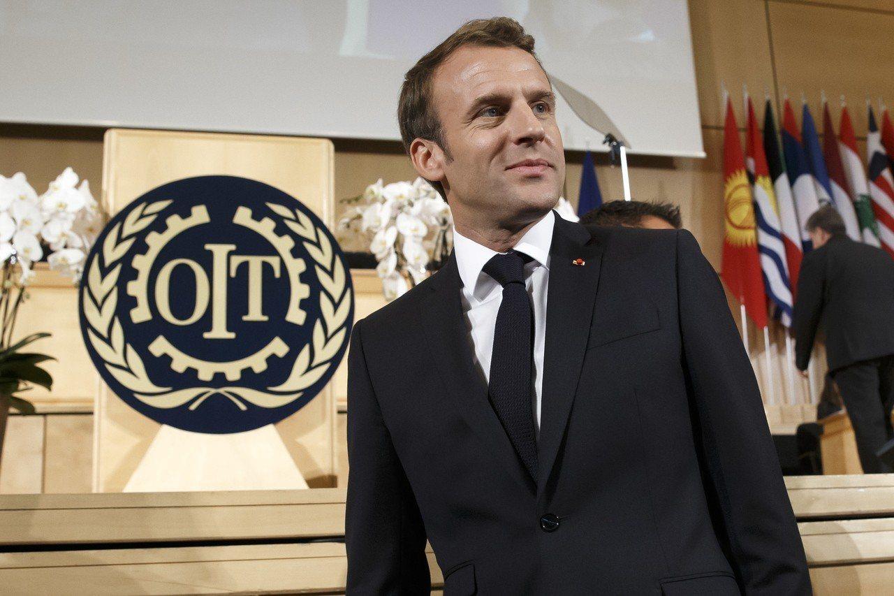 馬克宏(Emmanuel Macron)。 歐新社