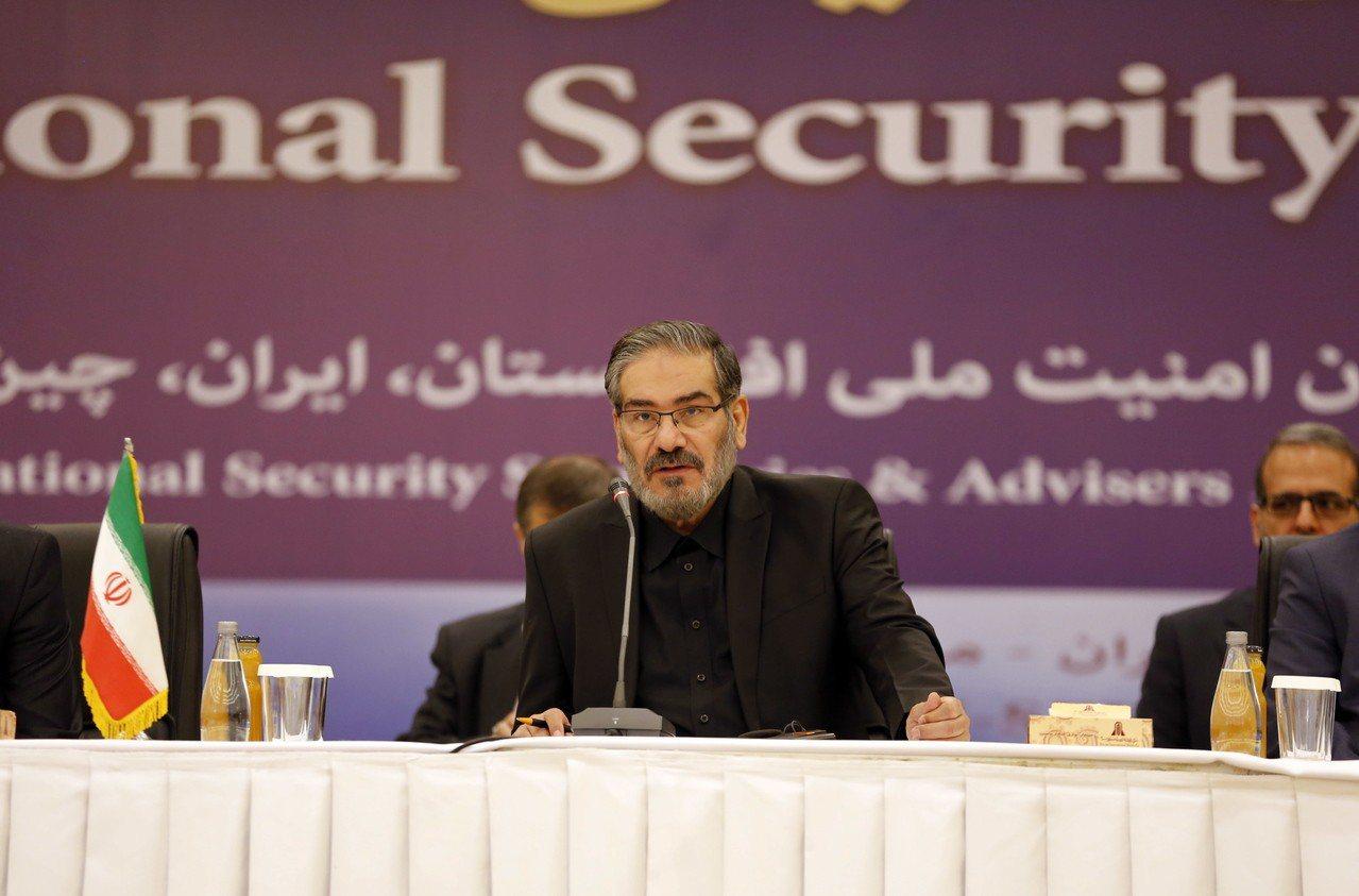 伊朗最高國家安全委員會秘書夏卡尼(Ali Shamkhani)。 歐新社
