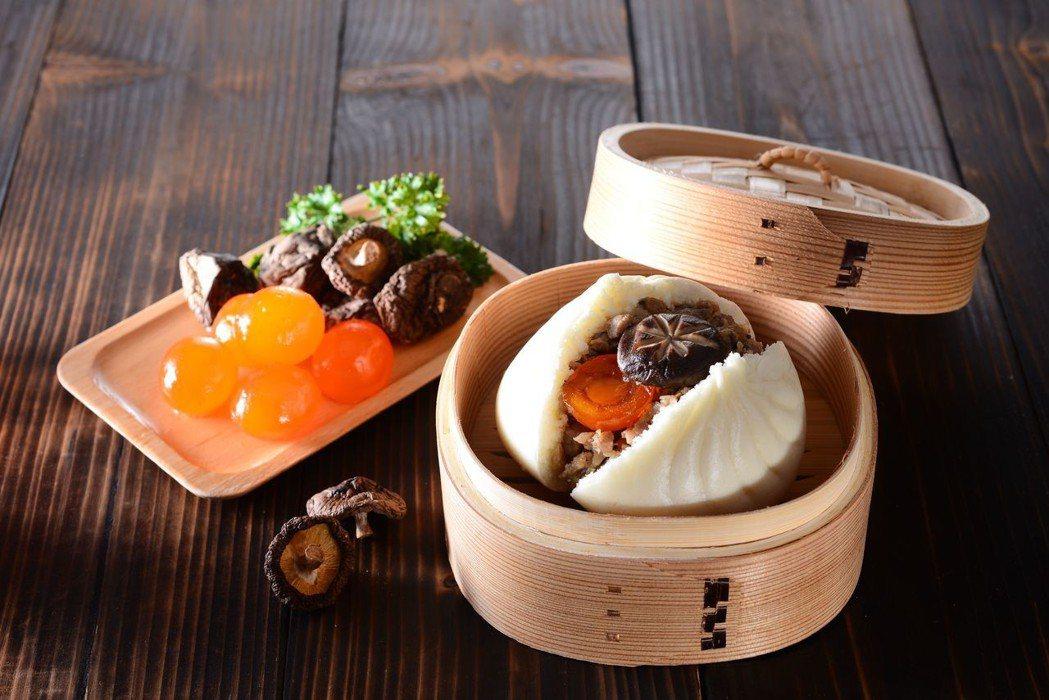 奇美食品推出固形物包子,餡料大塊,媲美手工口感。 奇美食品/提供