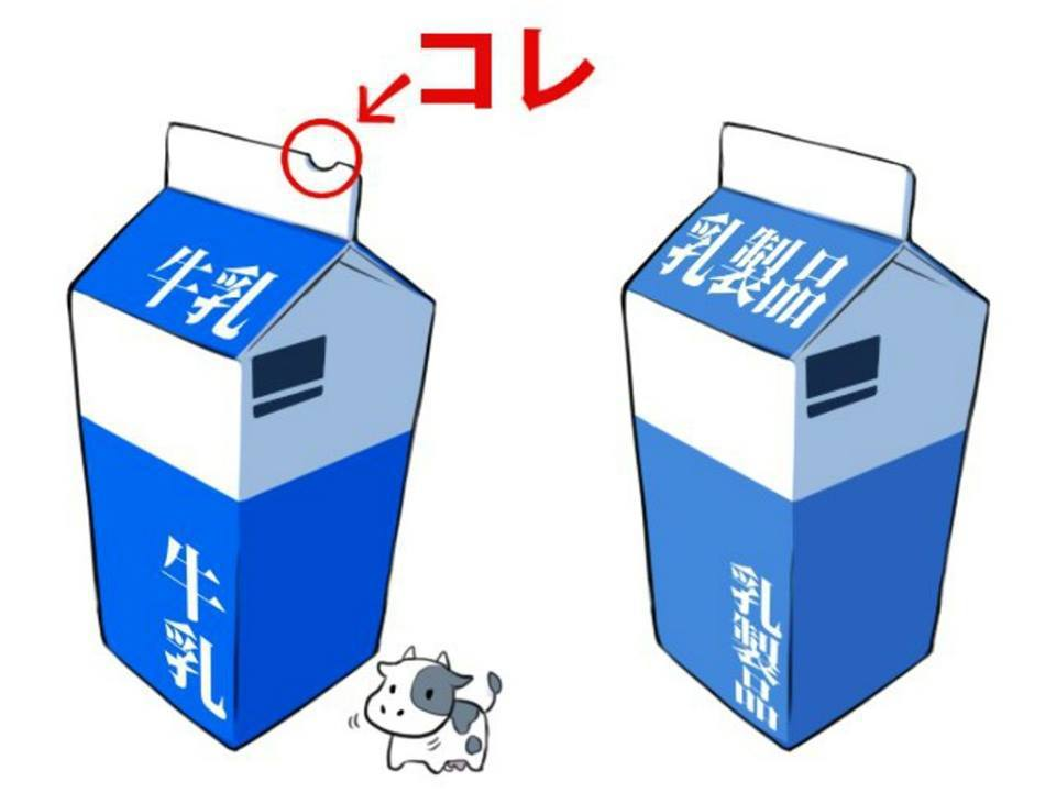 若想要挑選鮮奶,憑「半圓形缺口」就能輕鬆辨別。圖擷自日韓旅遊公社