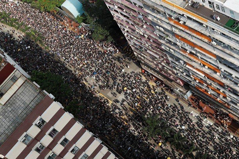 攝於6月16日,香港。 圖/路透社