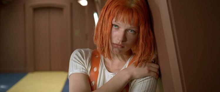 《第五元素》的蜜拉喬娃維琪。圖/擷自 imdb