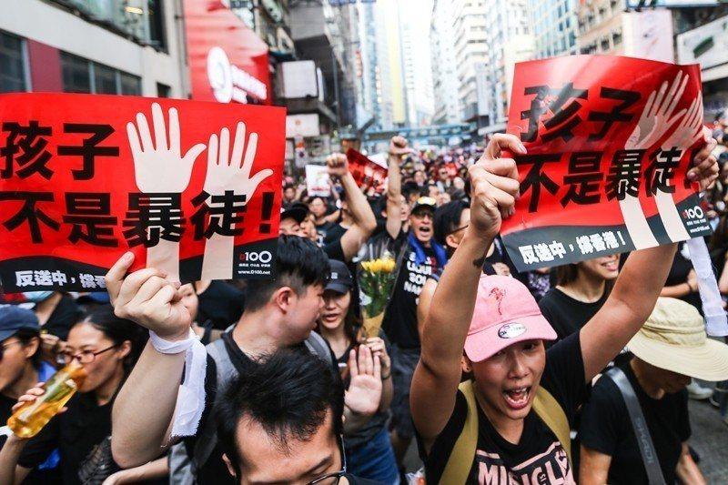 攝於6月16日,香港。 圖/聯合報系資料照