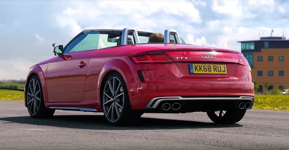 Audi TTS Roadster。 擷自carwow影片