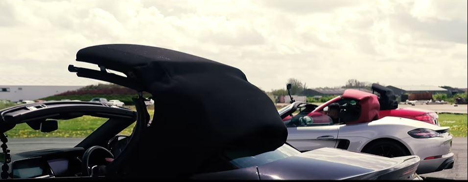 究竟哪輛車的開篷速度最快呢? 擷自carwow影片