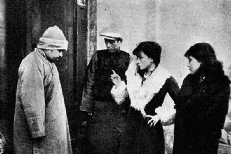 《故都春夢》劇照,1930年。 圖/維基共享