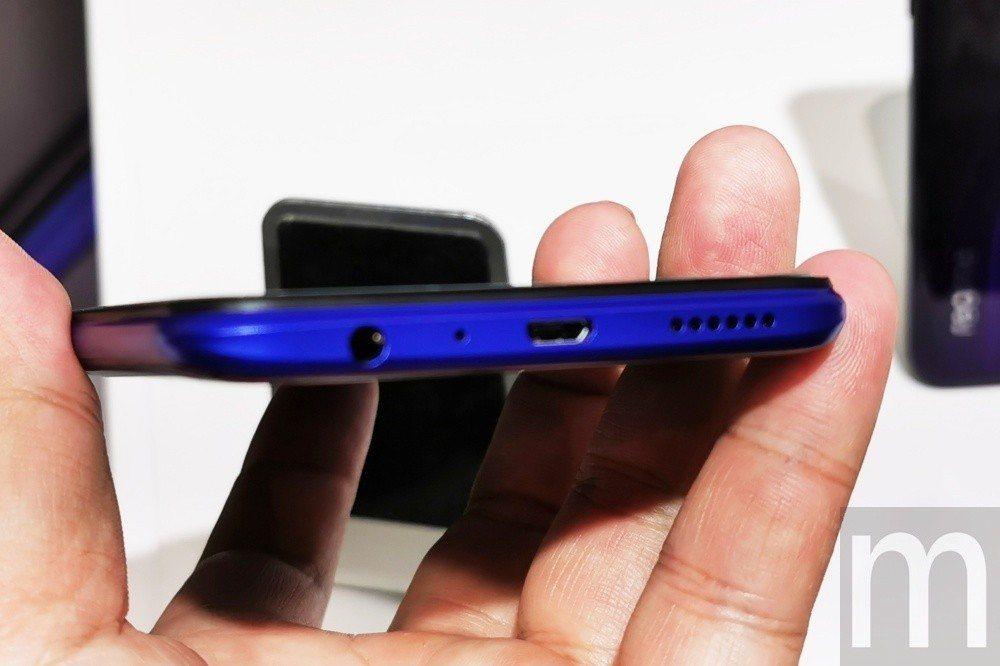 不過,較可惜部分是仍維持使用micro USB連接埠設計,並非跟進採用USB-C...