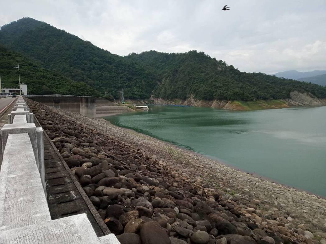 曾文水庫儲水已超過7成。圖/南水局提供