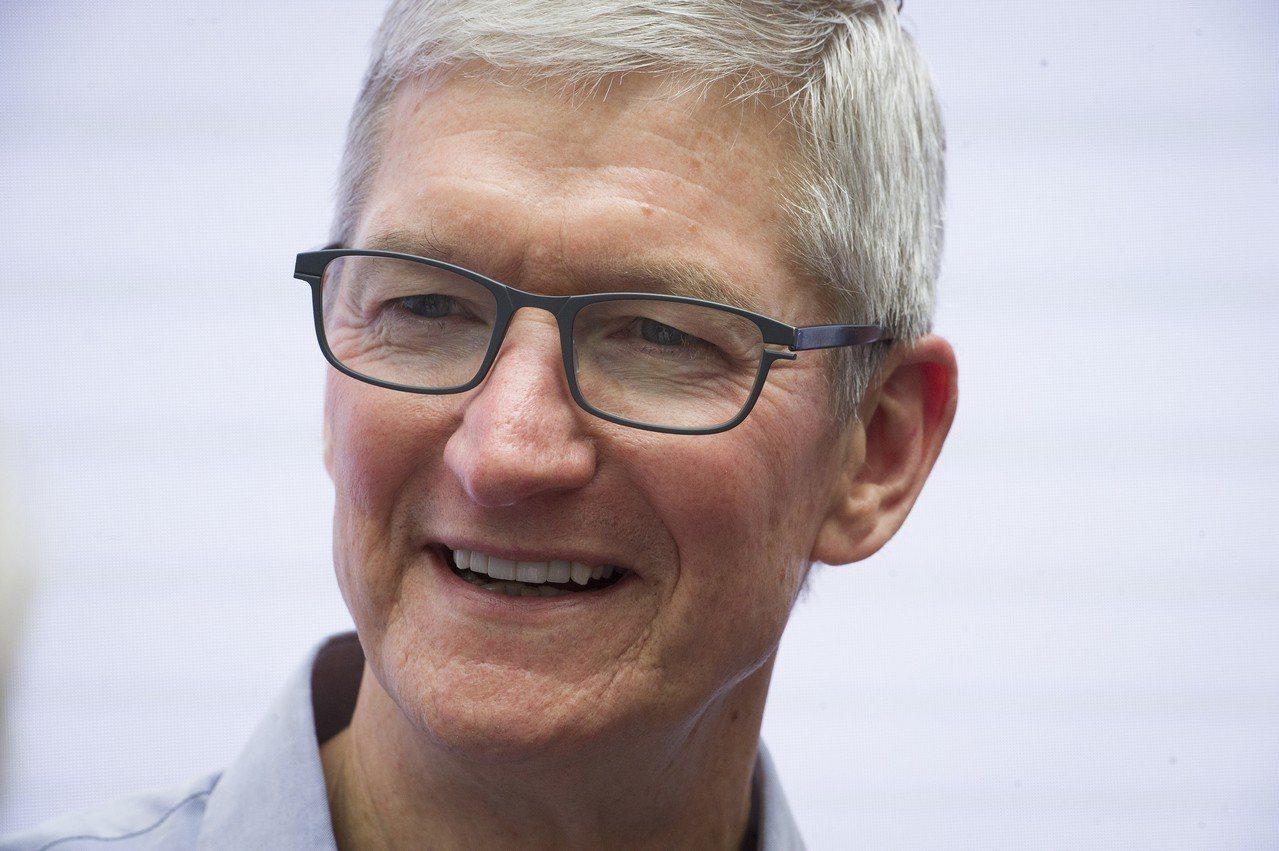 蘋果執行長庫克。 美聯社