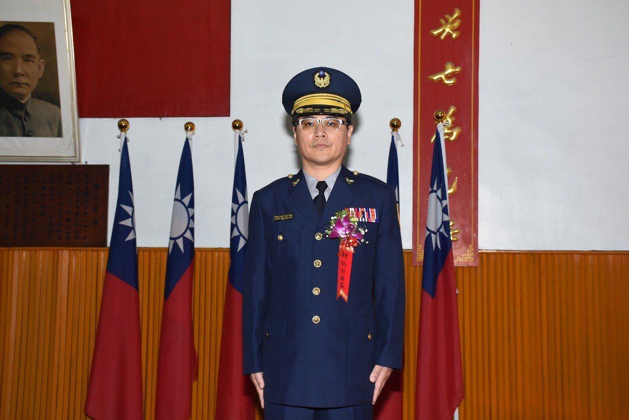 新任西螺分局長徐俊生。圖/西螺警分局提供