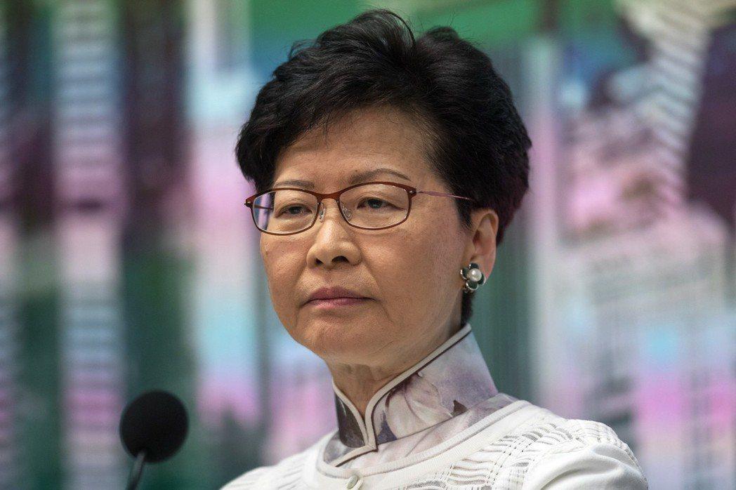 香港特首林鄭月娥16日晚間對修訂《逃犯條例》處理不當發表道歉聲明。歐新社