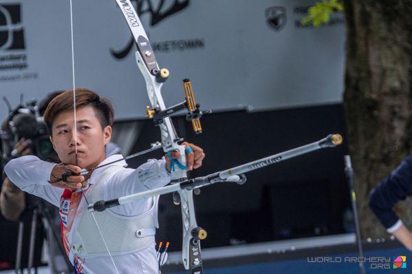 射箭世錦賽/雙金寫紀錄 雷千瑩關心基層