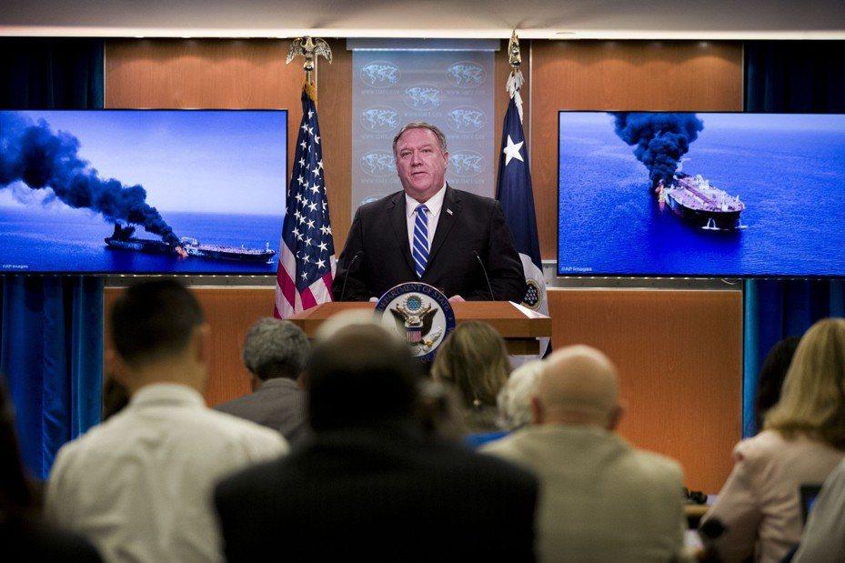 兩油輪13日於阿曼灣遭襲後,美國國務卿龐培歐就將此事歸咎於伊朗。美聯社
