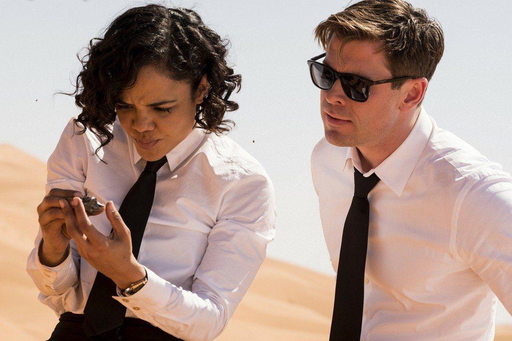 「MIB星際戰警:跨國行動」 劇照。圖/索尼提供