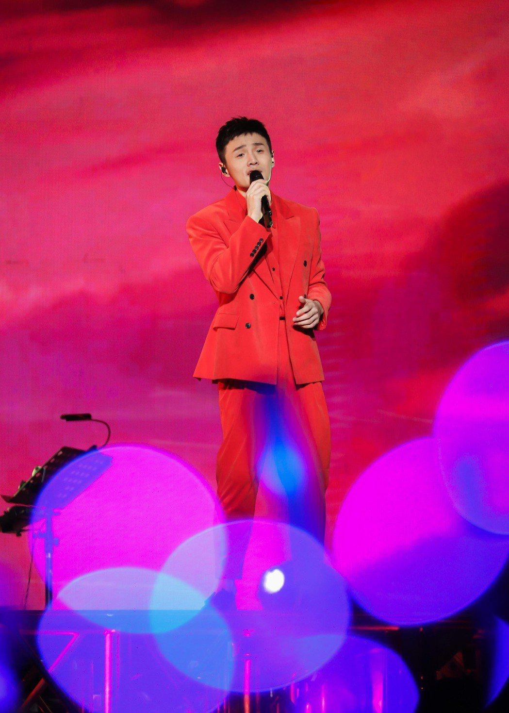 李榮浩宣布「年少有為」世界巡演台北站於10月26日登場。圖/上引娛樂提供