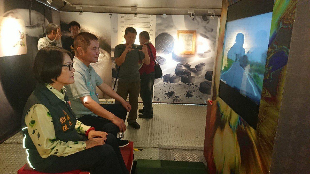 苗栗縣「藥不藥 一念間」反毒行動博物館,透過案例、展示及互動體驗方式,寓教於樂宣...