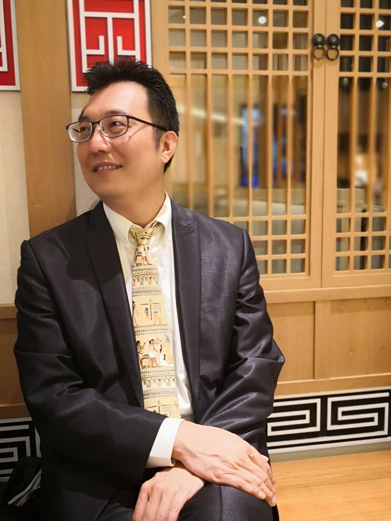 淡江大學蘭陽校園全球發展學院院長包正豪。圖/取自包正豪臉書
