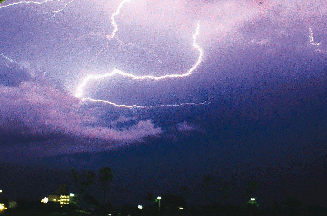 熱島效應熱會使得暴雨落雷增加、提高自殺風險並影響GDP。 記者羅紹平/攝影