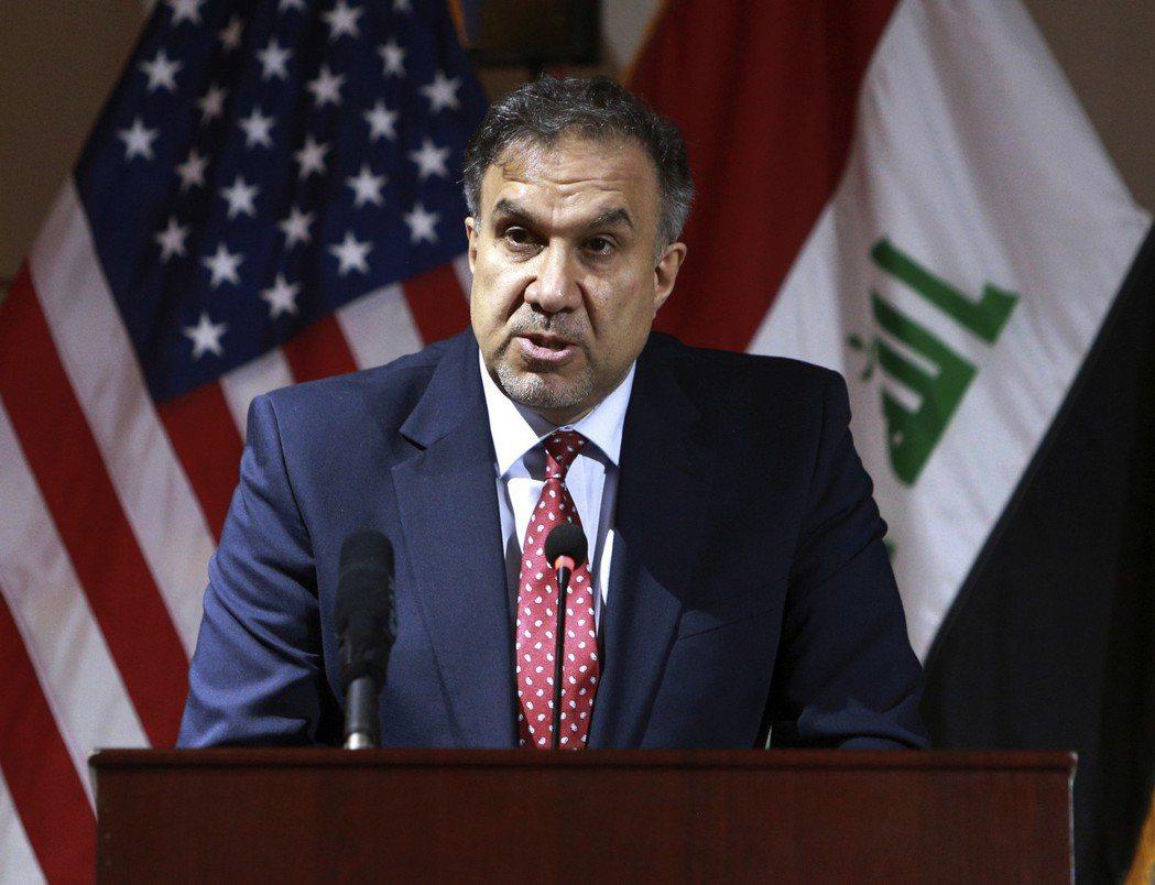 伊拉克電力與能源部長哈提布。(美聯社)