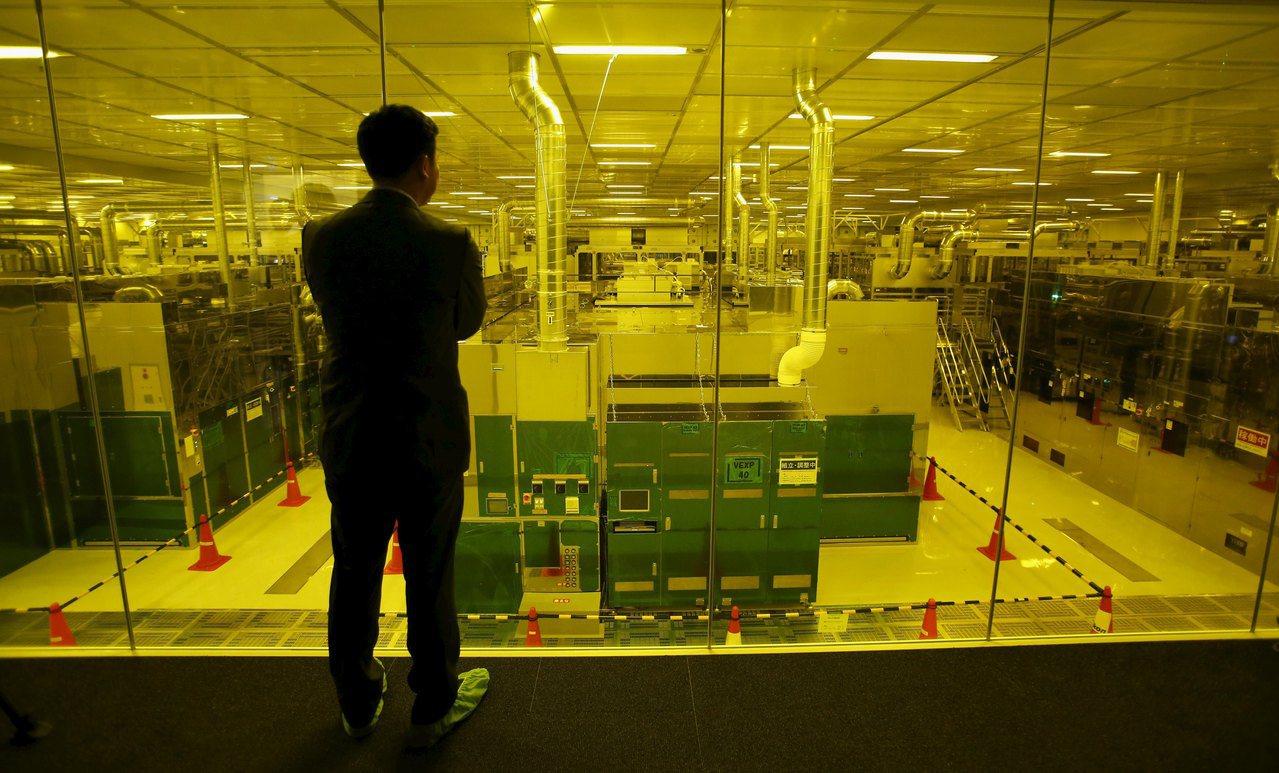 日本中小面板廠日本顯示器(JDI)。路透資料照