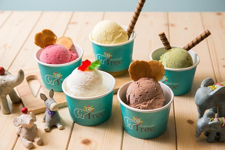 小象樹義式冰淇淋。  老爺行旅 提供