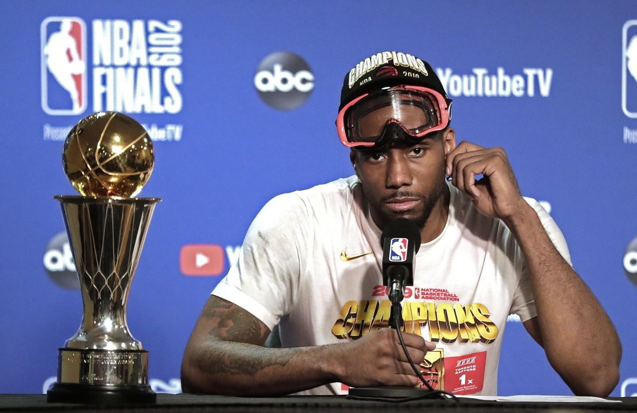 NBA/續留暴龍可能性大增?雷納德代言加拿大航運