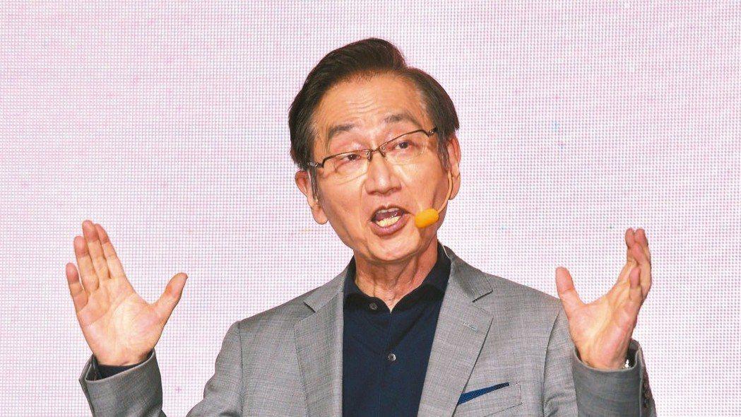 華碩股東會,董事長施崇棠表示,ZenFone 6銷售表現良好。 本報資料照片、華...