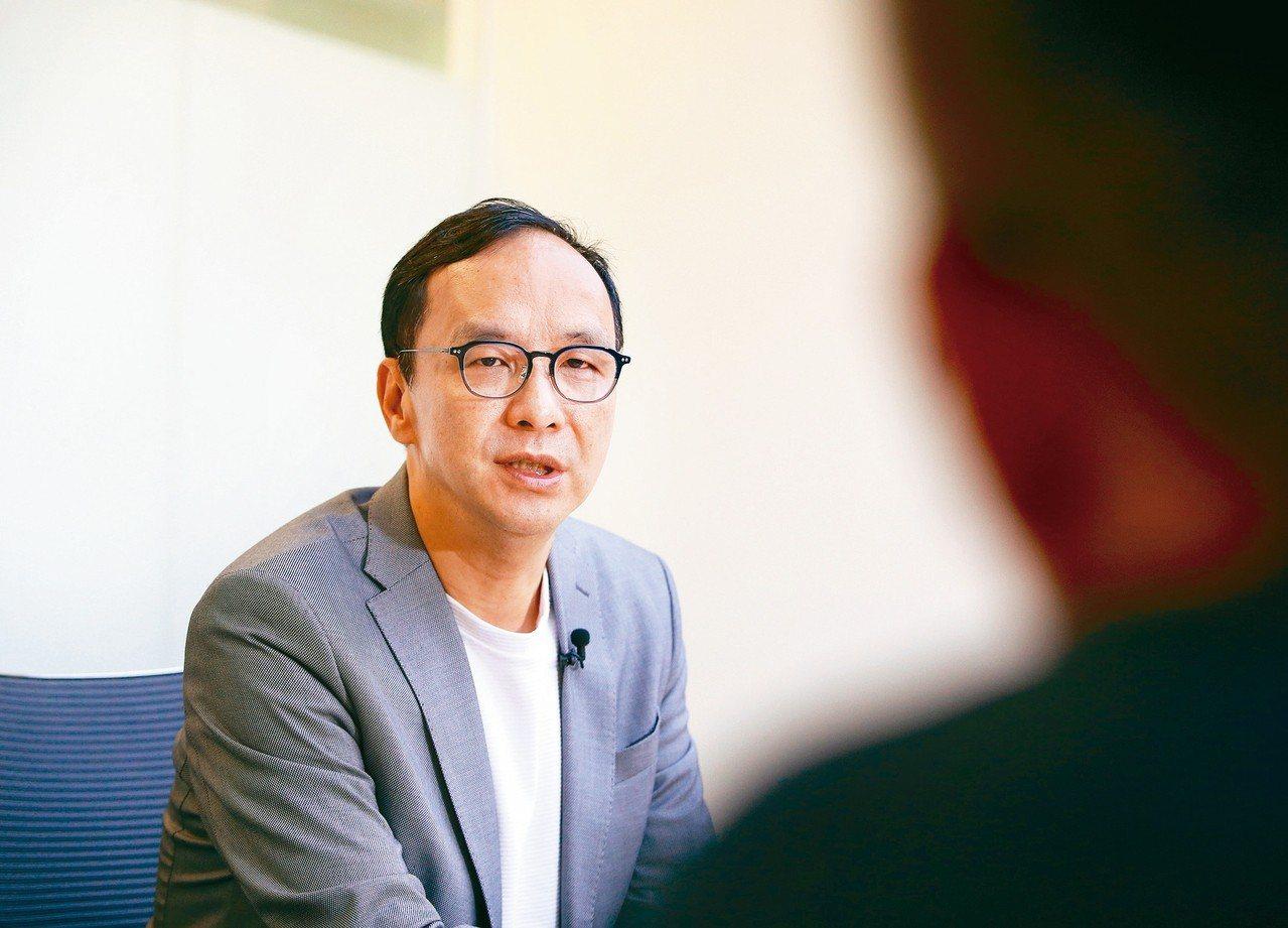 新北市前市長朱立倫。 記者陳柏亨/攝影