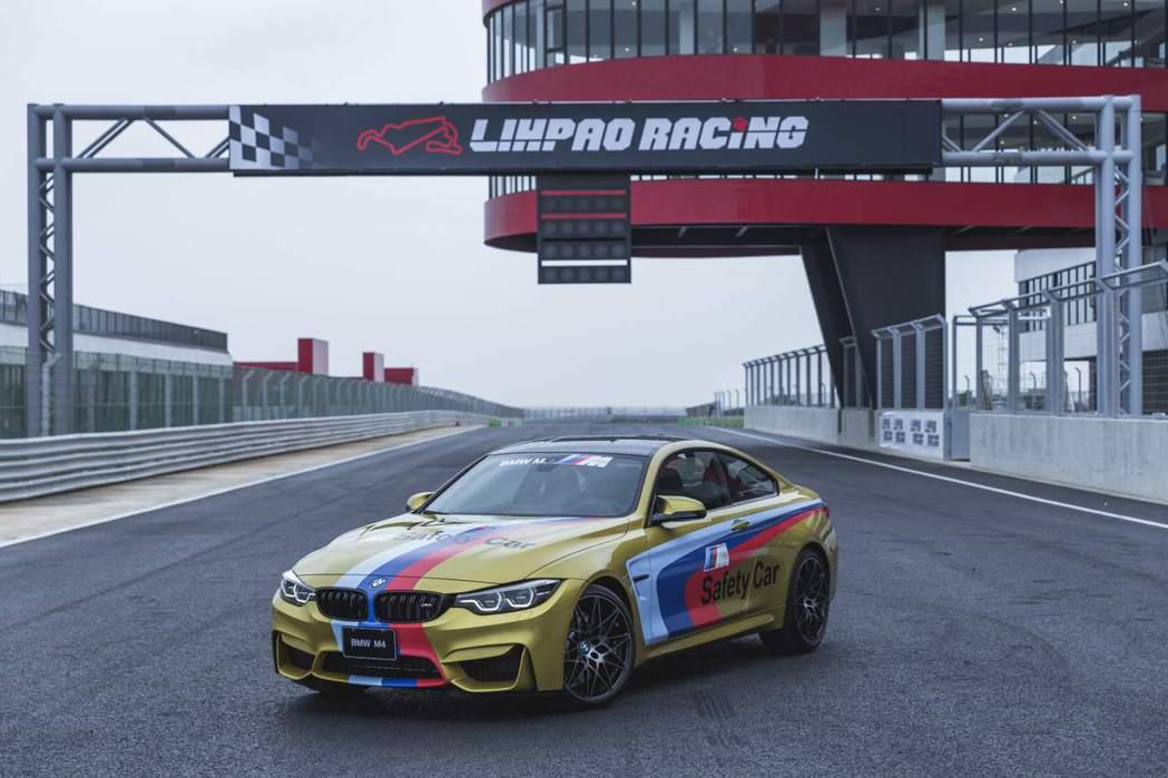 生於賽道的M式基因BMW M4 Competition捍衛麗寶賽道安全。 圖/B...