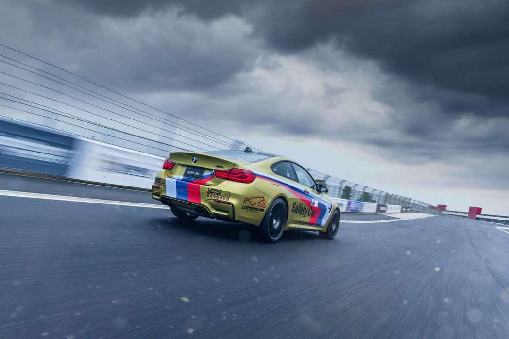 BMW M4 Competition運動化排氣系統展現戰鬥氣息的賽道基因。 圖/...