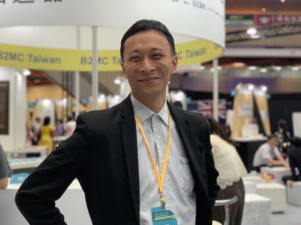AESOP團隊執行長龍安靖指出,AI人工智慧在商品化與推進市場的速度是關鍵。 蔡...