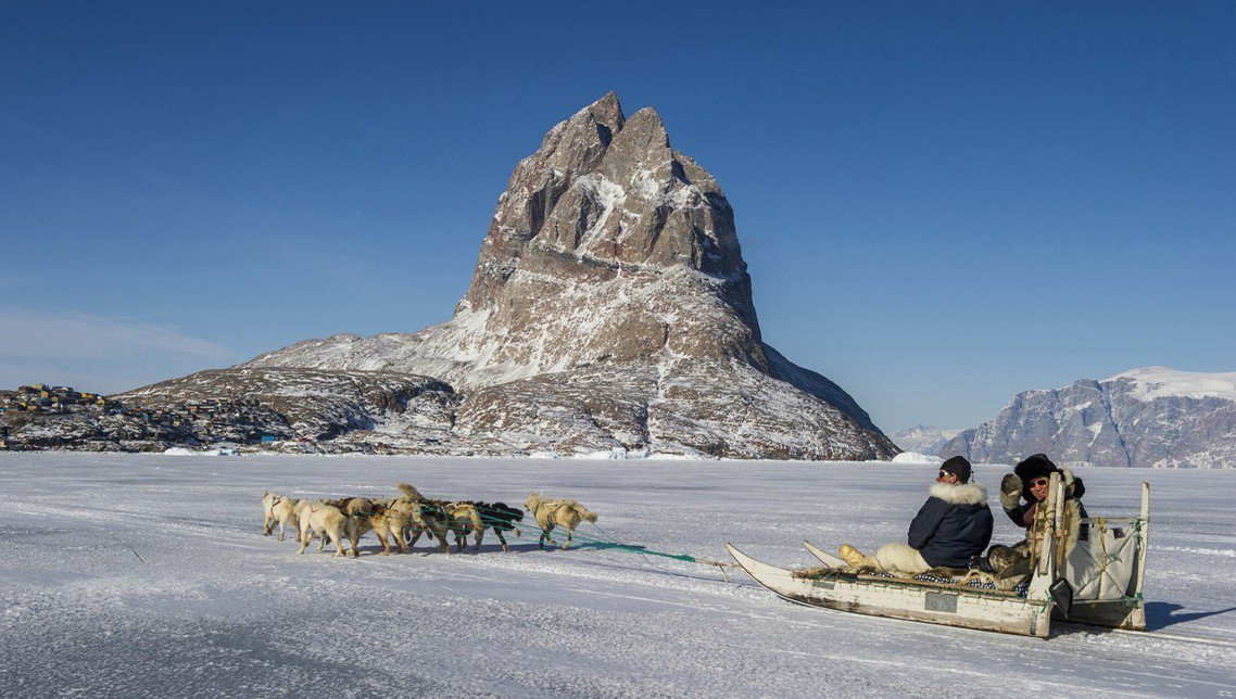 如果格陵蘭的情況沒有趨緩,連帶跟著冰雪一起消失的還有傳統格陵蘭文化,像是因紐特人...