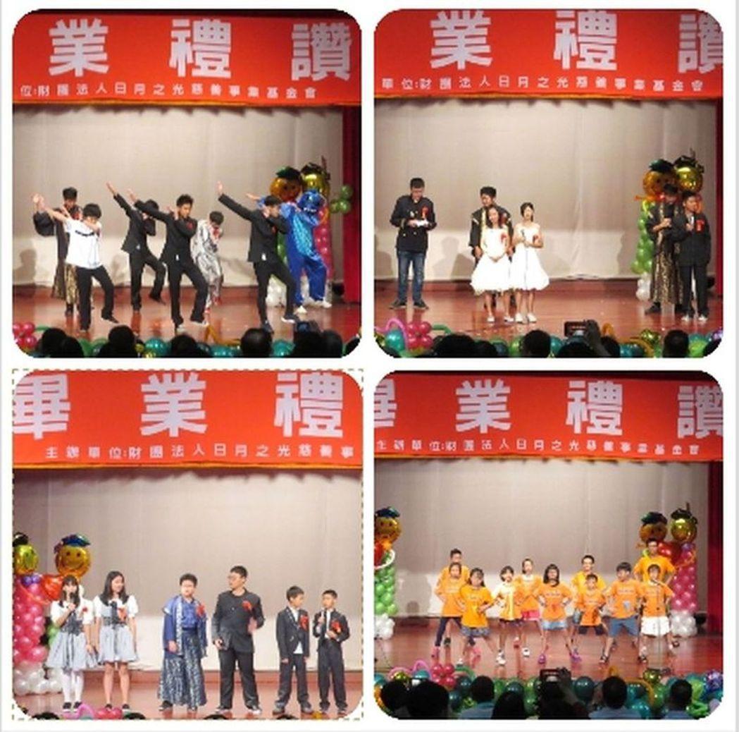 寶貝熊、快樂熊、活力熊的畢業生,以及在校生們準備了精彩、有活力的表演,獻給畢業生...
