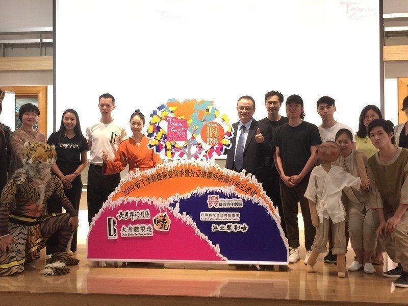 台灣7團隊今年將邁向英、法兩大藝術節演出。(photo by 鄭吉峻/台灣醒報)