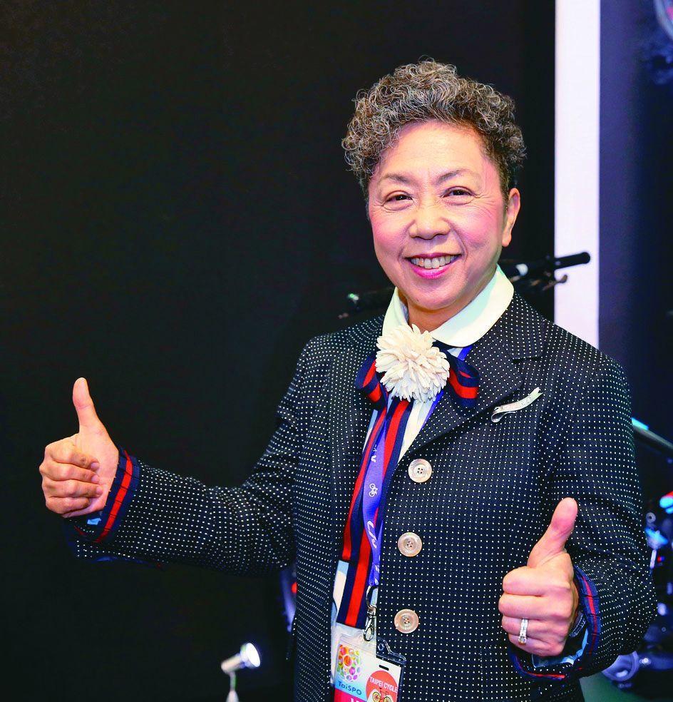 巨大機械董事長杜綉珍。 本報系資料照片