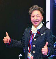 巨大機械董事長杜綉珍。 報系資料照