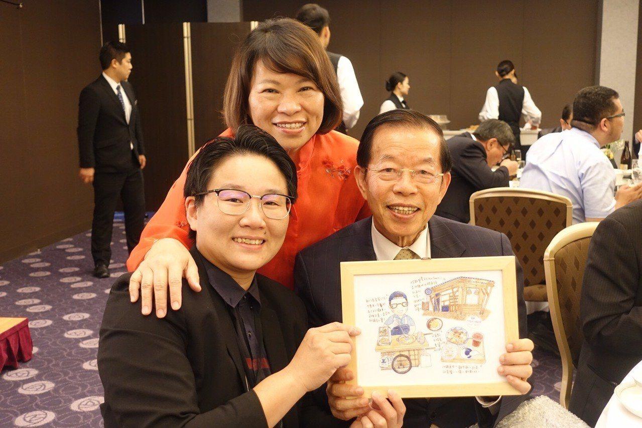 黃敏惠赴日宣傳 謝長廷:市長讓台灣更有信心