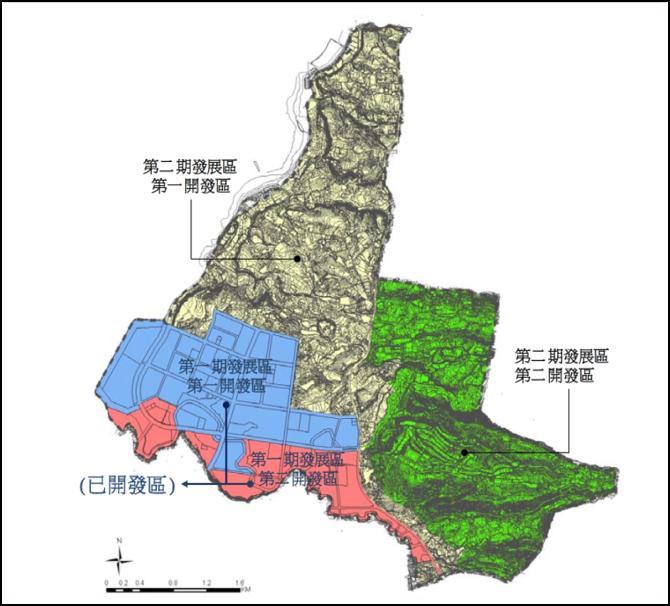 淡海新市鎮原有營建署的「新市鎮特定區實施整體開發前區內土地及建築物使用管制辦法」...