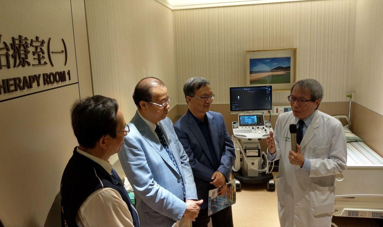 中國醫藥大學附設醫院細胞治療中心今天啟用