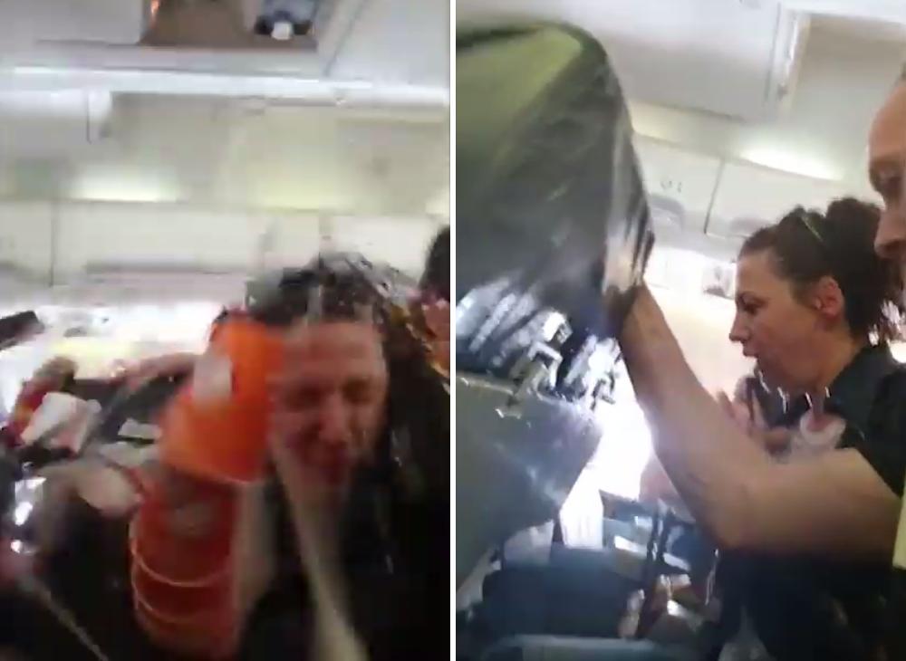 保加利亞航空公司「ALK Airlines」16日從科索沃飛瑞士的一架航班遇上嚴...
