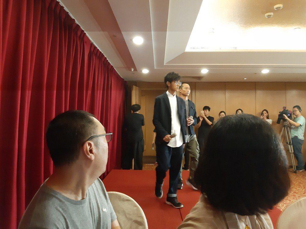 浩翔出面道歉。記者林怡秀/攝影