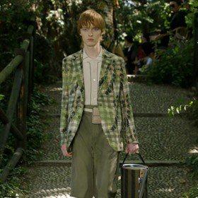 米蘭男裝周/FENDI 時髦森林系男子 展現美好生活剪影